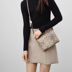 Artizia Faux Suede Mini Skirt 4